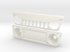 AC005 Axial Capra ANGRY Grill 3d printed Part as it comes from Shapeways