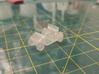 HO Scale Modern Golf Cart 3d printed As it came from Shapeways