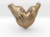 EmeDeÚ Necklace 3d printed Matte Gold Steel