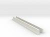Concrete K-Rail Lane Barrier (N scale) 3d printed