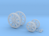 OO Scale NWR Traction Engine Details 3d printed