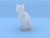 1/24 Sitting Cat 3d printed
