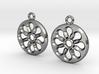 Rosette type 4 [earrings] 3d printed