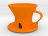 Generative Designed Coffee Dripper_S01 3d printed
