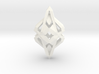 HEART TO HEART Intense, Pendant 3d printed