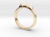 Edwardian Crown Ring - Sz. 7 3d printed