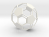 Soccer Ball - wireframe - 2 3d printed