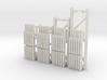 42X144-120-96-72 X 96 Beam Kit 1-87 HO Scale 3d printed