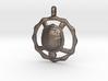 TURTLE TOTEM Jewelry Symbol Pendant 3d printed