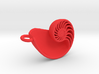 Nautilus Pendant (Small) 3d printed