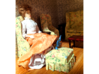 1/12 Dollhouse Doll Victorian Constance 3d printed In a 1/12 dollhouse