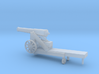 1/87 Scale Civil War 32-pounder M1845 Seacoast Gun 3d printed