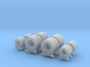 1/64th Rolled Metal Coils for truck or trailer 3d printed