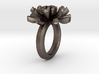 Sea Anemone Ring17.5mm 3d printed