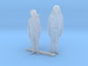 S Scale Standing Women 6 3d printed This is a render not a picture