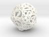 Static Gear (D20) 3d printed