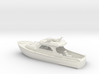 Yacht 01.HO Scale (1:87). without stern platform 3d printed