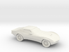1/87 1969 Corvette C3 Stingray 3d printed