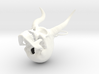 Christmas Krampus Skull 3d printed