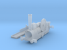 OO Scale NWR Traction Engine Body 3d printed