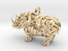 The Rhino Pendant  3d printed