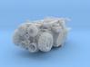 Massey Ferguson MF750 - MF760 Combine HO scale 3d printed