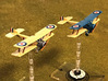 """Sopwith 1-1/2 Strutter (one-seater, various scales 3d printed Photo and paint job courtesy Paul """"ShadowDragon"""" at wingsofwar.org"""