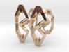 """Head To Head"" Cufflinks (customizeable) 3d printed"