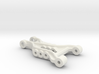 B2 Dyna Storm front suspension arm 3d printed brass bushing Version