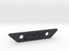 flat footpeg plate - fz1 logo 3d printed