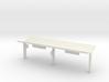 N Gauge Platform Canopy 3d printed