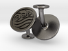 Water Element Cufflinks (Avatar the Last Airbender 3d printed