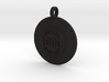 Customizable Pinball Pop Bumper Pendant 3d printed
