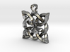 4 Clover Knot - Pendant 3d printed Render