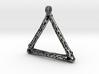 Patronus Necklace frame 3d printed