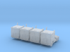 Kenworth Cabover - Set of 4 - 1:500scale 3d printed