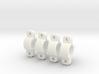 45 Deg Clamps for 8mm Tubular (Lama Hook Mounts) 3d printed