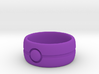 One Bead Ring - Size 23 3d printed