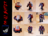 PM-02 Buster 3d printed Robot mode and Engine mode...