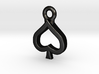 Spade Charm / Pendant / Trinket 3d printed