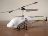 SYMA S107 Dragonfly canopy 3d printed Direct replacement with two screws!