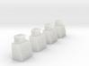 N-Scale Single Door Cooler - 4 Pack 3d printed