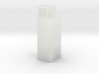 N-Scale Upright Single Door Cooler 3d printed