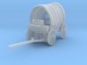N Scale Covered Wagon 3d printed This is a render not a picture
