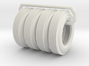 Firestone Tires set of 4 1?16 Scale 3d printed
