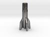 V2 Rocket Cigarette Stubber 3d printed V2Rocket Cigarette Stubber in polished nickel steel