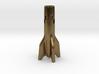 V2 Rocket Cigarette Stubber 3d printed V2Rocket Cigarette Stubber in raw bronze