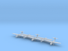 1/350 Fairey Barracuda MkII Wheels Down x5 3d printed