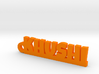 KHUSHI_keychain_Lucky 3d printed