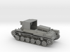 1/100 IJA Type 4 Ho-Ro Self Propelled Gun 3d printed